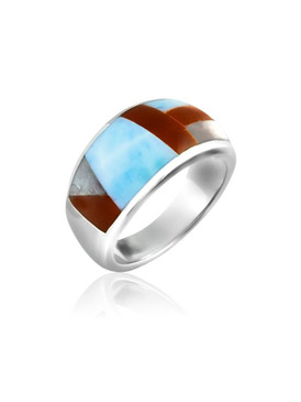 MarahLago Luce Collection Larimar Ring