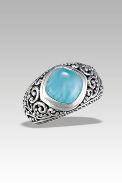 Marah Lago Woodland Collection Larimar Ring
