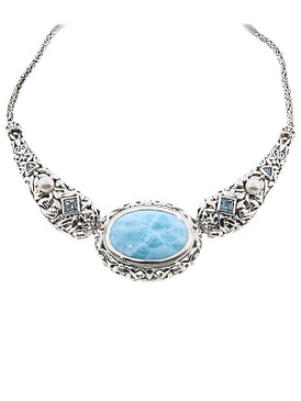 MarahLago Messina Collection Larimar Necklace