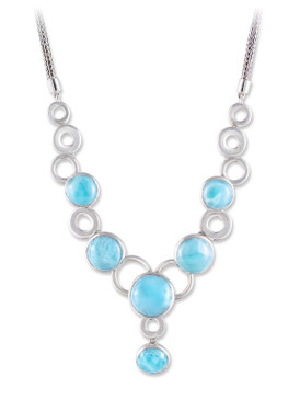 MarahLago Ellora Collection Larimar Necklace - Reduced