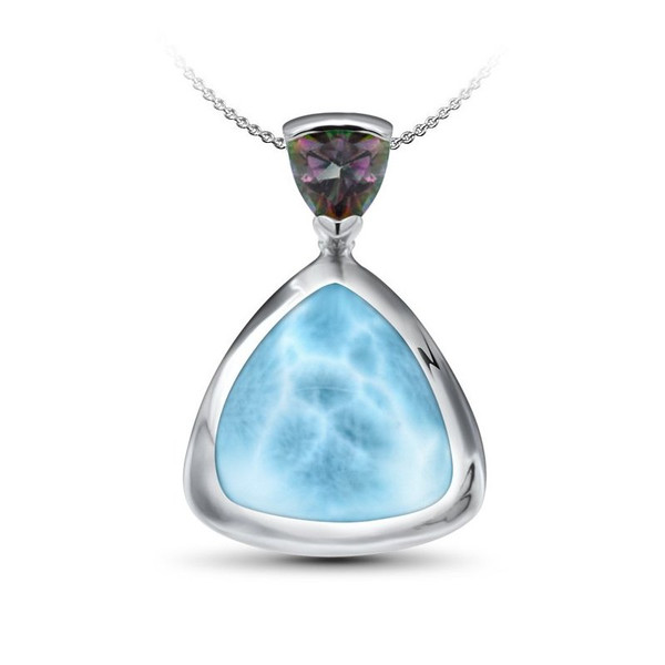 MarahLago Spectral Larimar Pendant or Necklace