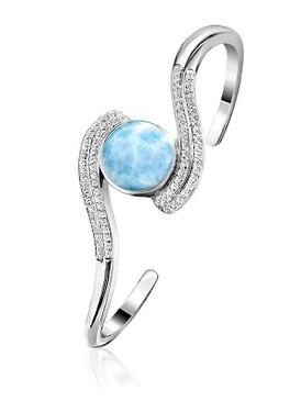 MarahLago Adella Collection Larimar Bracelet