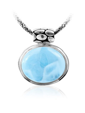 MarahLago Tortuga Collection Larimar Necklace
