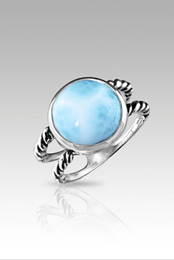 MarahLago Ciro Collection Larimar Ring - Newly Redesigned!