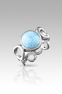 MarahLago Ellora Collection Larimar Ring