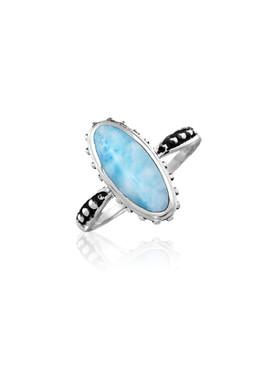 MarahLago Gemini Collection Larimar Ring