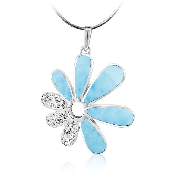 MarahLago Mayflower Collection Larimar Necklace
