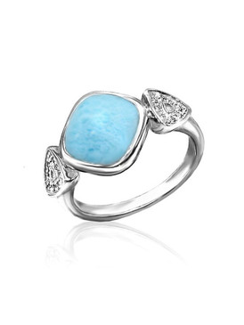 MarahLago Alexandria Collection Larimar Ring