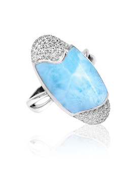 MarahLago Cascadia Collection Larimar Ring