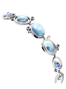 MarahLago Poetry Collection Larimar Bracelet