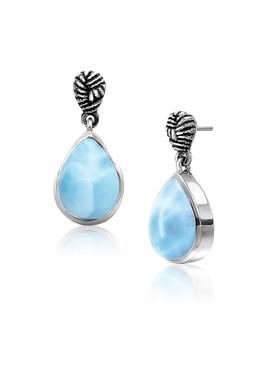 MarahLago Fern Collection Larimar Earrings