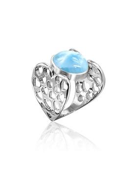 MarahLago Love Larimar Ring