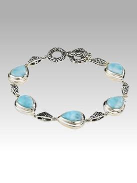 MarahLago Inara Collection Larimar Bracelet