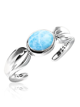 MarahLago Caressa Collection Larimar Cuff Bracelet - New Design