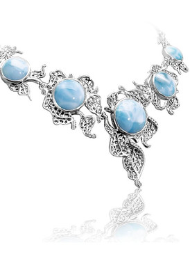 MarahLago Lagoon Collection Larimar Necklace