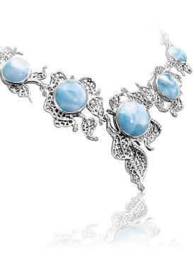 MarahLago Lagoon Collection Larimar Necklace
