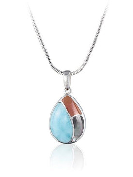 MarahLago Keetah Collection Larimar Necklace