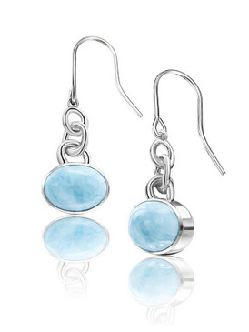 MarahLago Zuma Collection Larimar Earrings