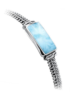MarahLago Titan Collection Men's Larimar Bracelet