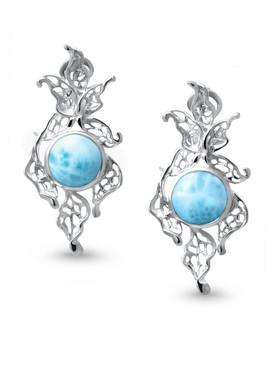 MarahLago Lagoon Collection Larimar Earrings