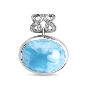 MarahLago Zeta Collection Larimar Necklace
