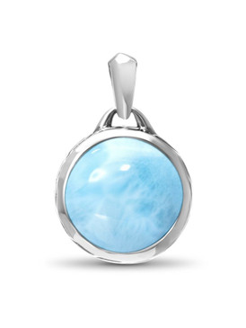 MarahLago Tonela Collection Women's Larimar Necklace  - 3x4