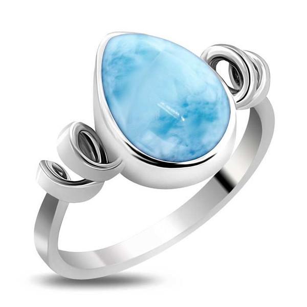 MarahLago Hydra Collection Larimar Ring - New Design