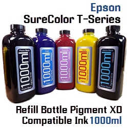 Bottle Pigment XD Ink 1000ml