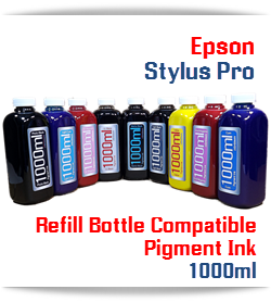 1000ml Refill Ink Epson Stylus Pro UltraChrome HDR compatible