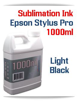 Light Black 1000ml Sublimation Ink Epson Stylus Pro Printers
