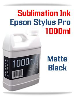 Matte Black 1000ml Sublimation Ink Epson Stylus Pro Printers