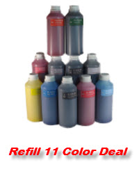 11 500ml Compatible Refill Ink