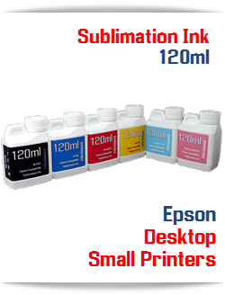Sublimation Bottle Ink for Epson Desktop Small Printers