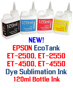 EPSON ECOTANK PRINTERS DYE SUBLIMATION BOTTLE INK