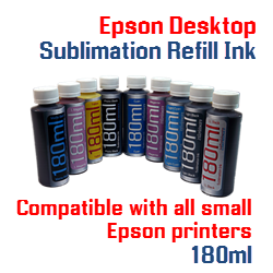 Epson Desktop Sublimation Refill Ink