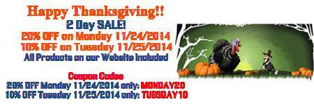 Happy Thanksgiving SALE