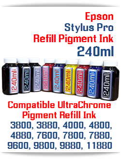 240ml Bottle Pigment Ink