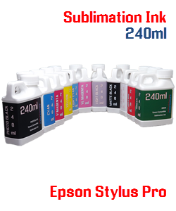 240ml Sublimation Refill ink Epson Stylus Pro Printers