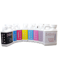 8 color Refill Sublimation Ink Package 240ml