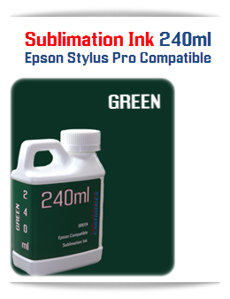 240ML Bottle Photo Green Sublimation Ink