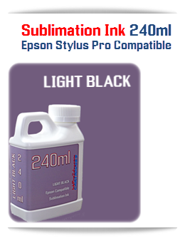 240ML Bottle Light Black Sublimation Ink