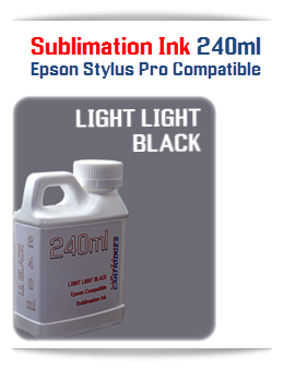 240ML Bottle Light Light Black Sublimation Ink