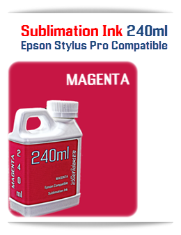 240ML Bottle Photo Magenta Sublimation Ink
