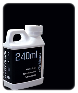 Matte Black 240ml Sublimation Ink Epson SureColor T-Series Printers