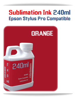 240ML Bottle Photo Orange Sublimation Ink