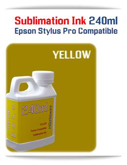 240ML Bottle Photo Yellow Sublimation Ink