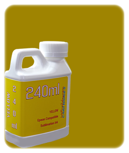 Yellow 240ml Sublimation Ink Epson SureColor T-Series Printers