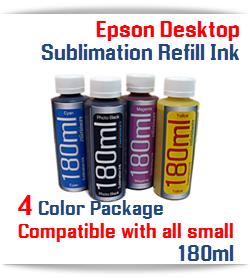 Epson Desktop Printer Sublimation Refill Ink