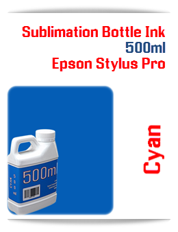 500ML Bottle Photo Cyan Sublimation Ink