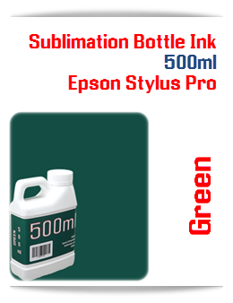 500ML Bottle Green Sublimation Ink